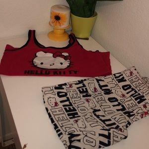 Hello Kitty Intimates & Sleepwear - Hello Kitty Pajamas